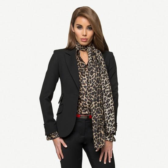 Black Crepe Jacket