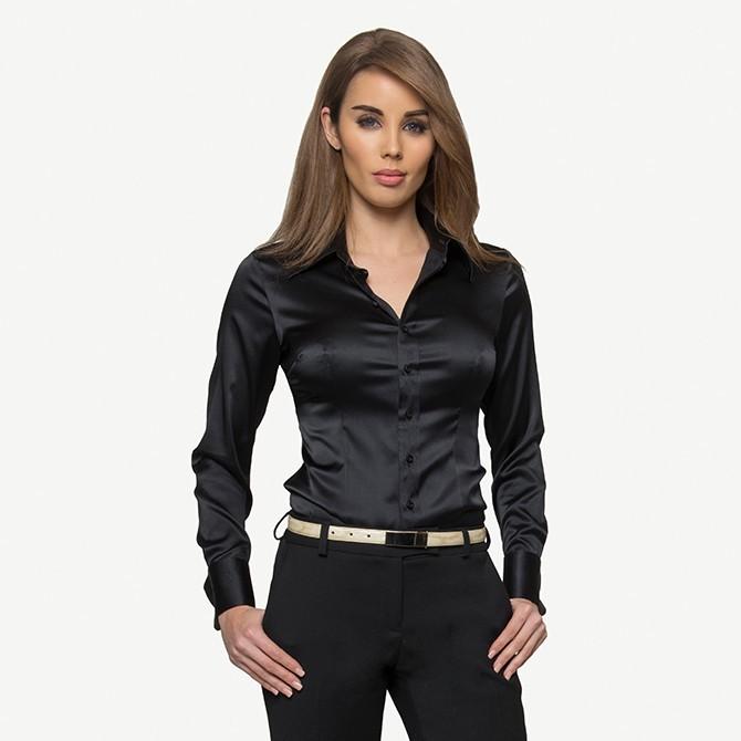 Black Span Shirt
