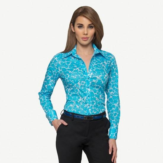 Aqua Shadow Shirt
