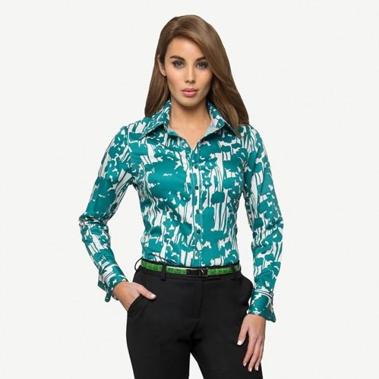 Jade Poppy Shirt